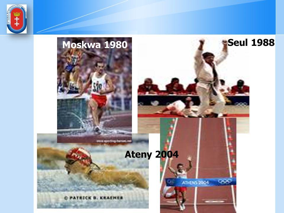 Moskwa 1980 Seul 1988 Ateny 2004