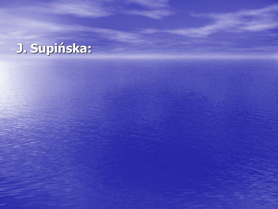 J. Supińska:
