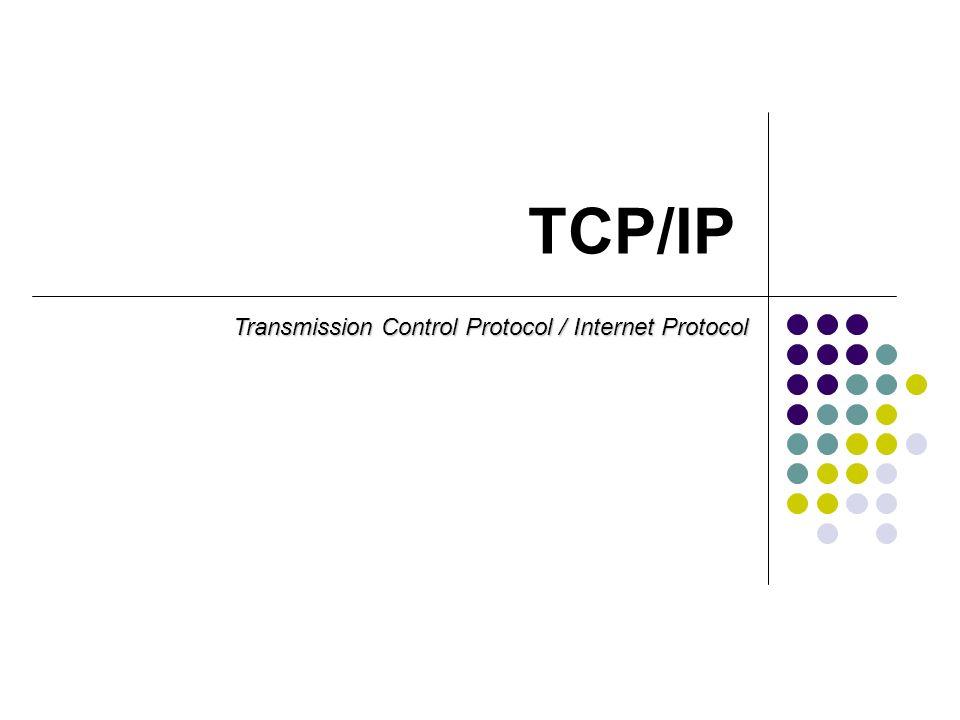 Trochę historii Protokół TCP/IP powstał pod koniec lat 60.
