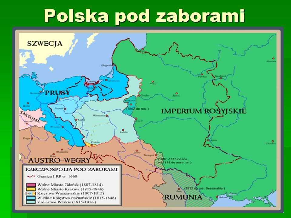 Polska pod zaborami