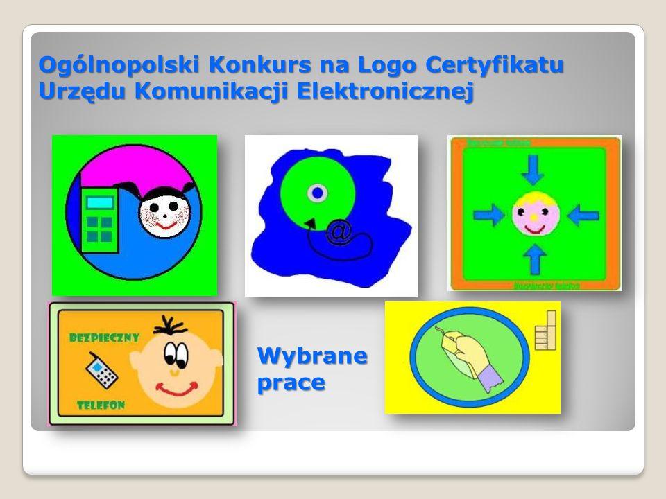 Dyplomy, którymi zostały nagrodzone dzieci.