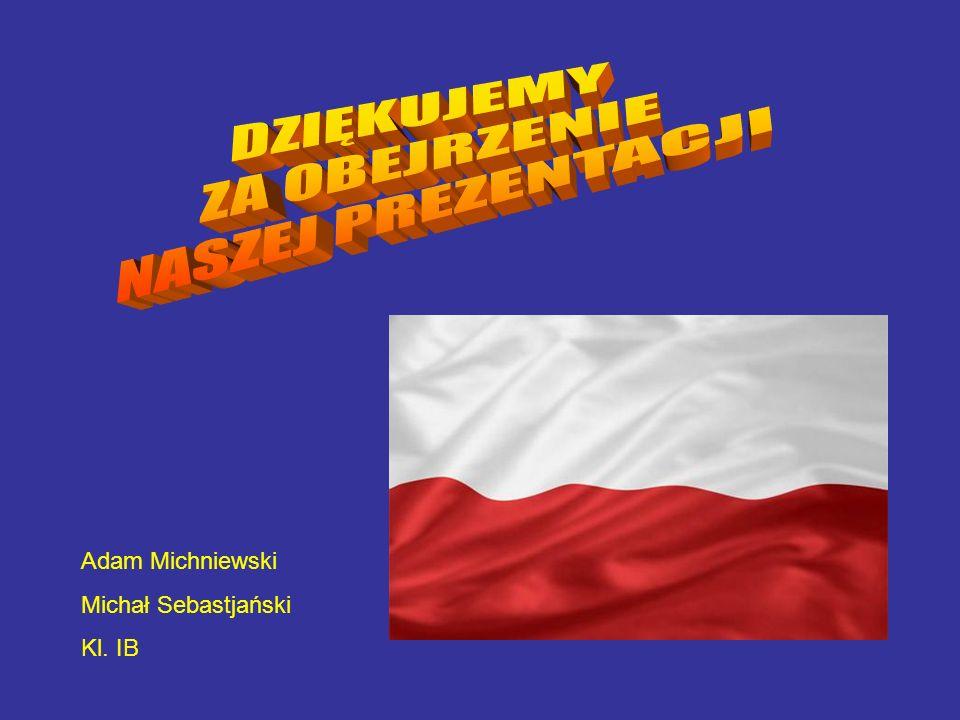 Adam Michniewski Michał Sebastjański Kl. IB