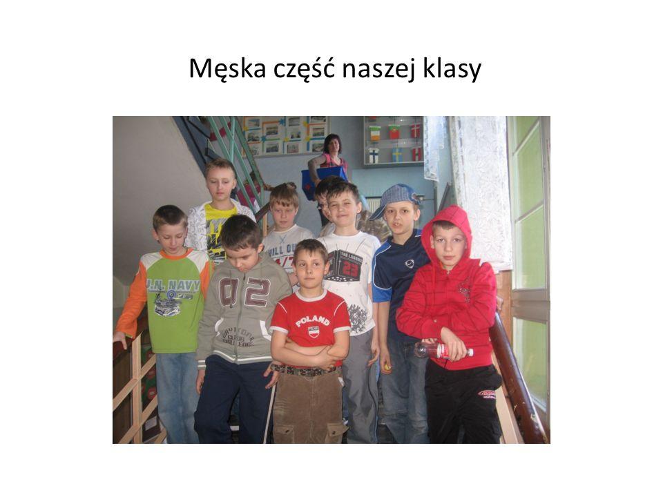 Męska część naszej klasy
