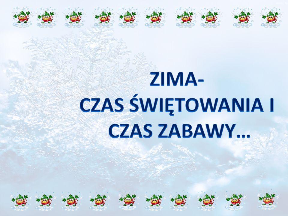 Zima w Polsce to czas szczególny dla dzieci.Wtedy właśnie przychodzi św.