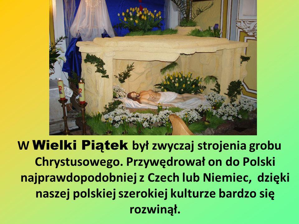 Pogrzeb żuru Ostatnie dwa dni postu były wielkim przygotowaniem do święta. W te dni robiono pogrzeb żuru – potrawy spożywanej przez cały post. Kiedy w