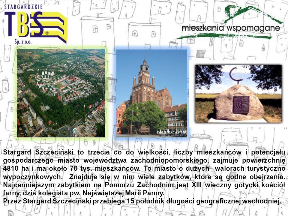 Stargard Szczeciński to trzecie co do wielkości, liczby mieszkańców i potencjału gospodarczego miasto województwa zachodniopomorskiego, zajmuje powier