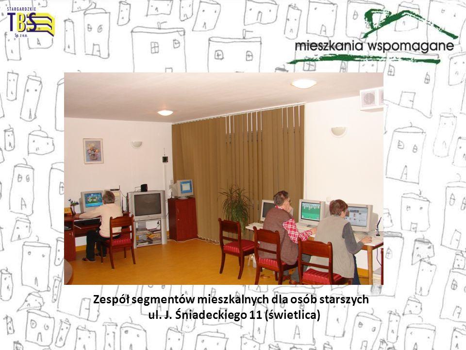 Zespół segmentów mieszkalnych dla osób starszych ul. J. Śniadeckiego 11 (świetlica)