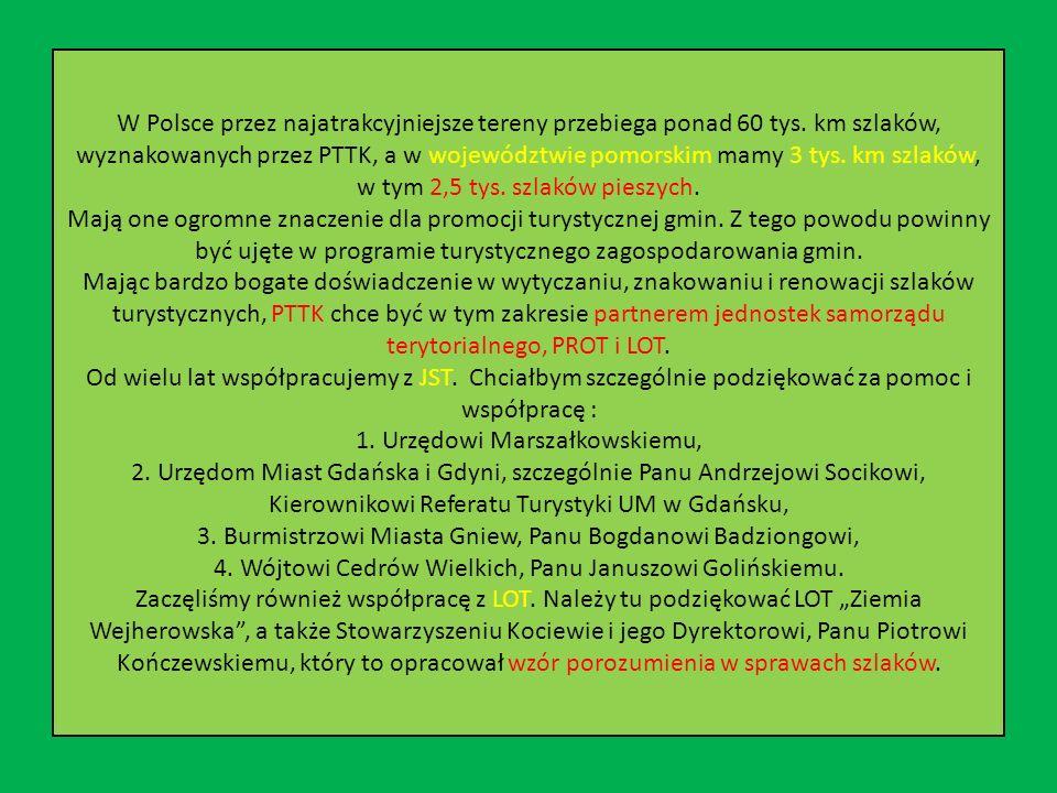 W Polsce przez najatrakcyjniejsze tereny przebiega ponad 60 tys.