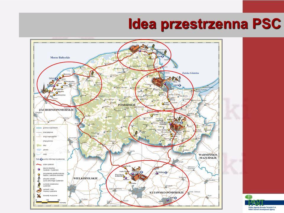 Idea przestrzenna PSC