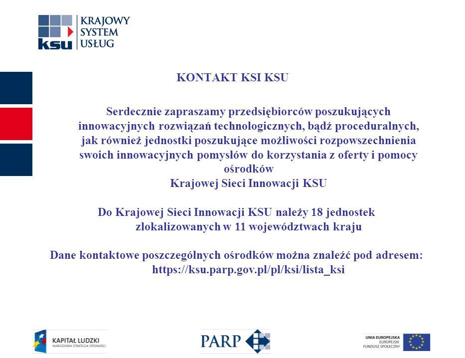 8 Polska Agencja Rozwoju Przedsiębiorczości srsksu@parp.gov.pl Dziękuje za uwagę.