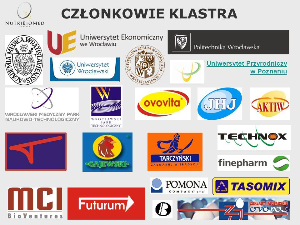 CZŁONKOWIE KLASTRA Uniwersytet Przyrodniczy w Poznaniu