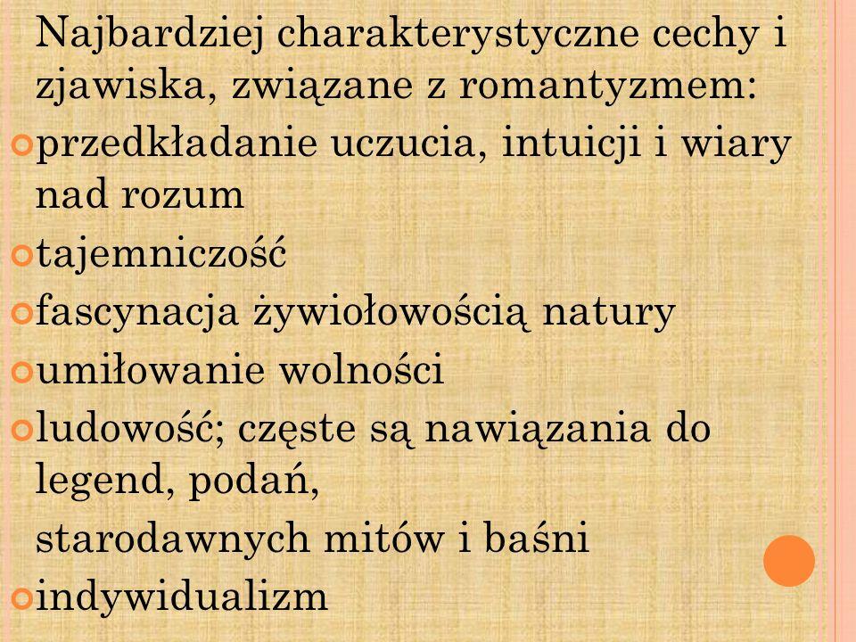 Konrad Wallenrod Wydane w roku 1828 w Rosji epopeja Pan Tadeusz czyli Ostatni zajazd na Litwie napisana w Paryżu w latach 1832-1834; wydana 1834.