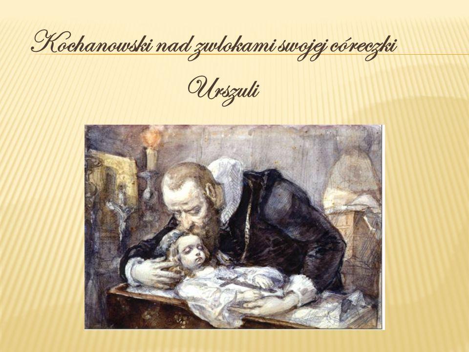 Kochanowski nad zwlokami swojej córeczki Urszuli