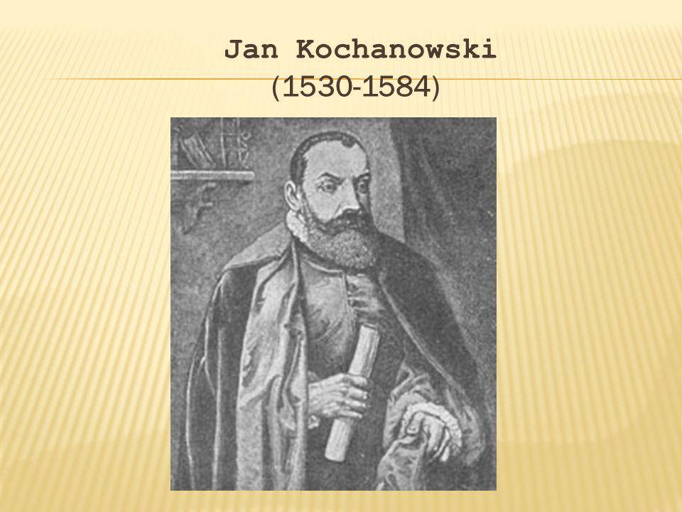 Nie zachowały się informacje o początkach edukacji Jana Kochanowskiego.