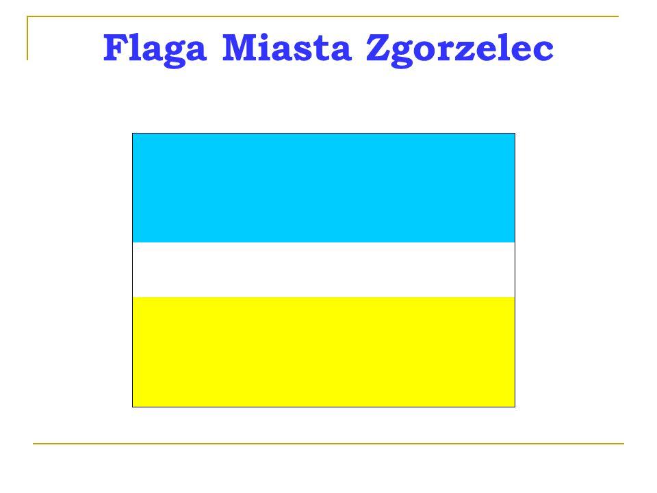 Flaga Miasta Zgorzelec