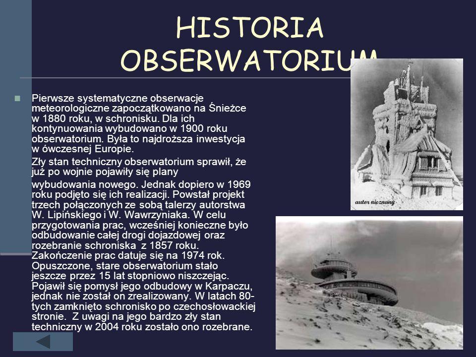 Charakterystyczne zjawiska górskie Charakterystyczne zjawiska górskie, które można zobaczyć w Karkonoszach to: widmo Brockenu (cień człowieka na mgle