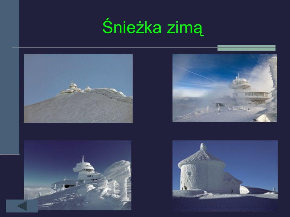 HISTORIA OBSERWATORIUM Pierwsze systematyczne obserwacje meteorologiczne zapoczątkowano na Śnieżce w 1880 roku, w schronisku. Dla ich kontynuowania wy