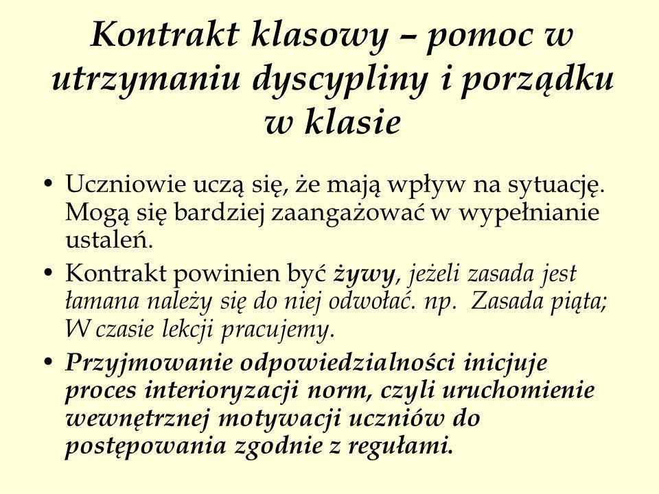 Literatura A.Karasowska, Jak budować porozumienie i współpracę w szkole.