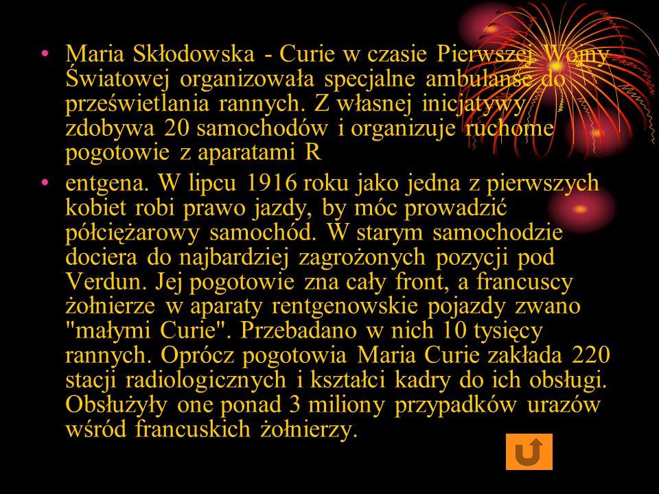 Maria Skłodowska - Curie chociaż jest uznawana za obrończynię kobiet, to nie popierała wszystkich nowości. Krótko przed śmiercią widząc nowe buty swoj