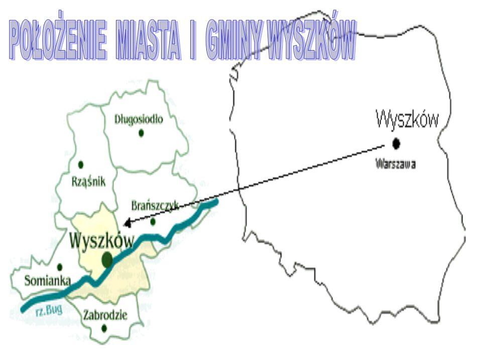 Wyszków jest gminą położoną w północno - wschodniej części województwa mazowieckiego, zajmując ogólną powierzchnię 6.500,6 ha.