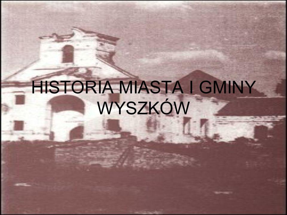 Wyszków jest wzmiankowany od 1203 r., najpierw pod nazwą Wyszkowo, prawa miejskie otrzymał w 1502 r.