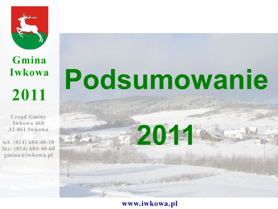 Podsumowanie 2011