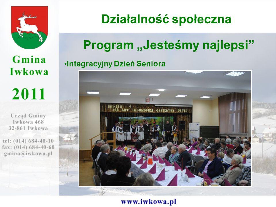 Program Jesteśmy najlepsi Integracyjny Dzień Seniora Działalność społeczna