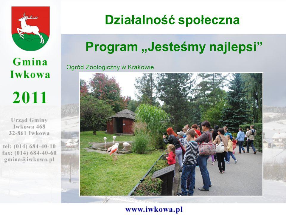 Program Jesteśmy najlepsi Ogród Zoologiczny w Krakowie Działalność społeczna