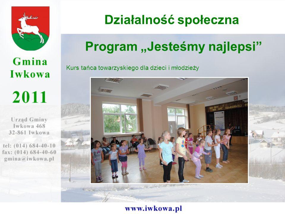 Program Jesteśmy najlepsi Kurs tańca towarzyskiego dla dzieci i młodzieży Działalność społeczna