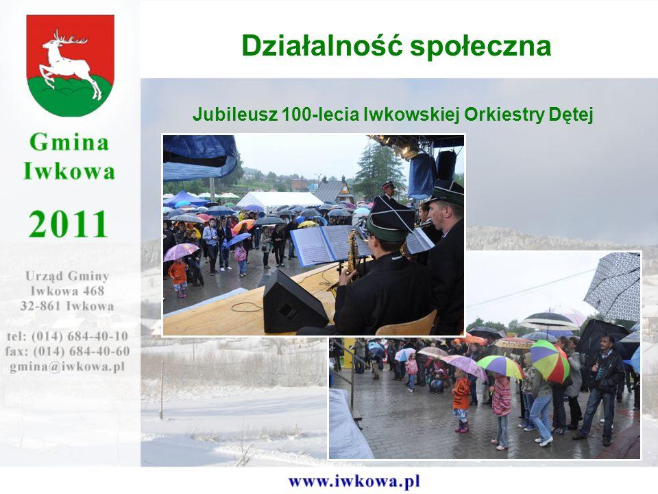 Jubileusz 100-lecia Iwkowskiej Orkiestry Dętej Działalność społeczna