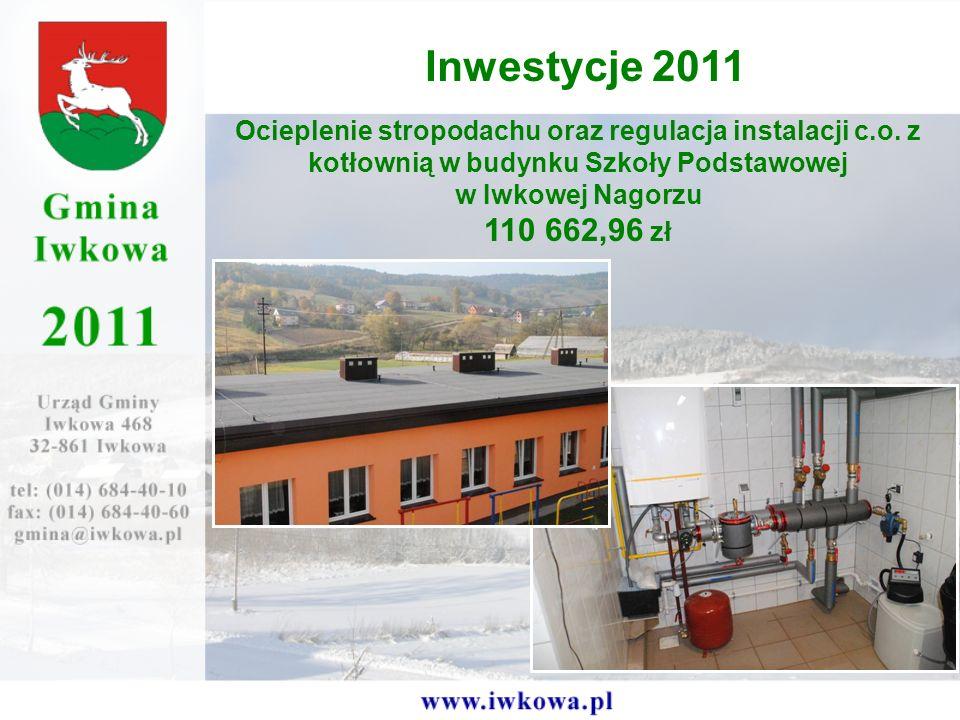 Ocieplenie stropodachu oraz regulacja instalacji c.o.