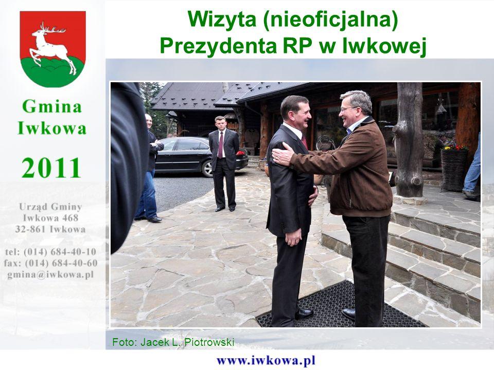 Wizyta (nieoficjalna) Prezydenta RP w Iwkowej Foto: Jacek L. Piotrowski