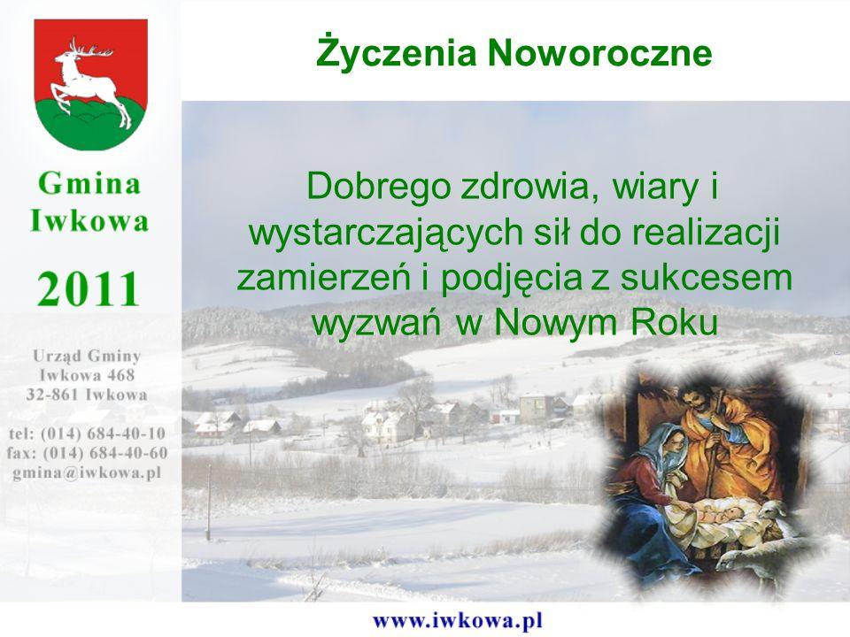 Dobrego zdrowia, wiary i wystarczających sił do realizacji zamierzeń i podjęcia z sukcesem wyzwań w Nowym Roku Życzenia Noworoczne