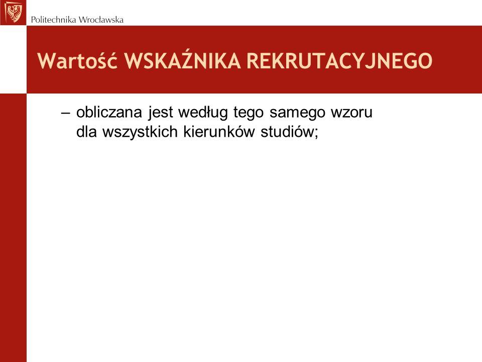 Informacje o egzaminach z matematyki i fizyki Od przyszłego roku Politechnika Wrocławska nie organizuje dobrowolnych egzaminów z matematyki i fizyki