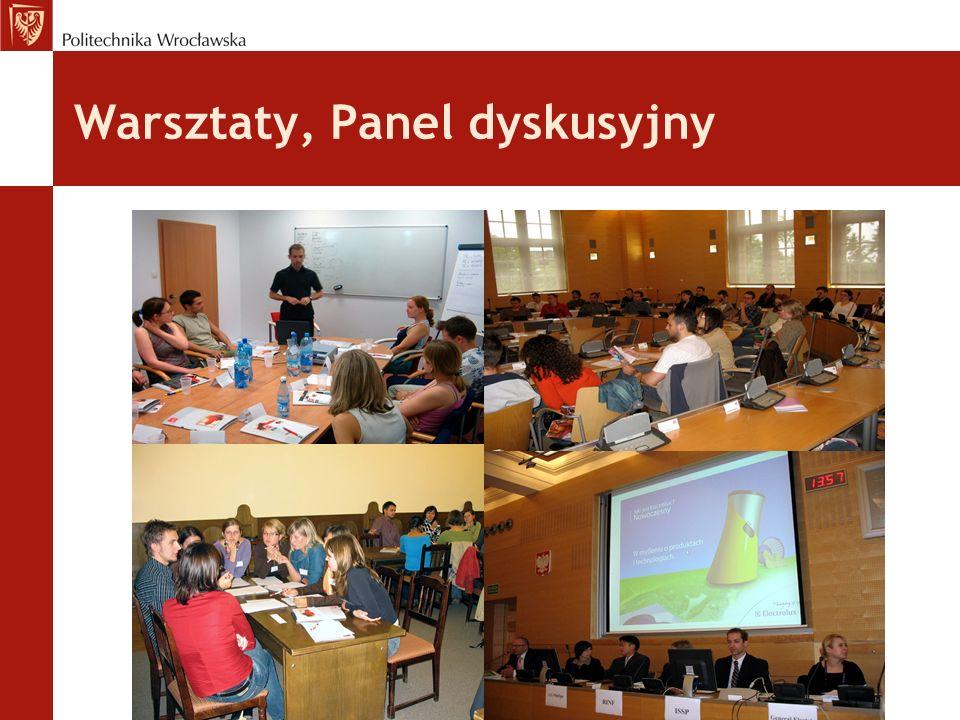 Warsztaty, Panel dyskusyjny
