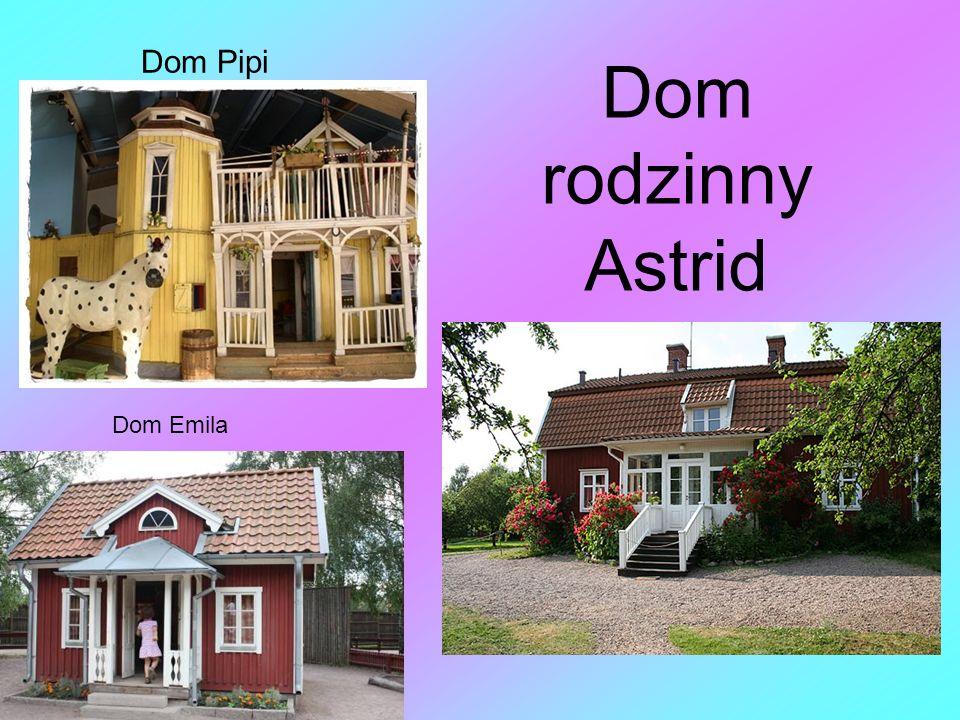 Źródła http://polowki.pl/singiel-kulturalny/astrid- lindgren/ http://www.pozytywy.com/artykuly/2112- astrid-lindgren-biografia http://www.minirejsy.pl/mini_przewodnik/szw ecja/sztokholm.html Książka Przygody Astrid Lindgren
