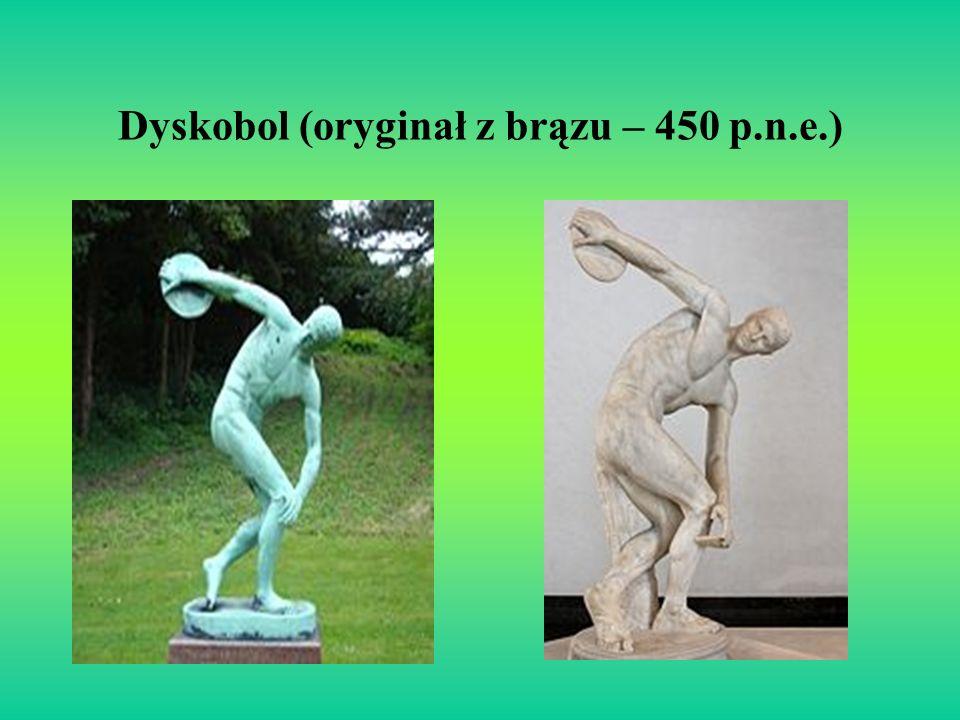 Dyskobol (oryginał z brązu – 450 p.n.e.)
