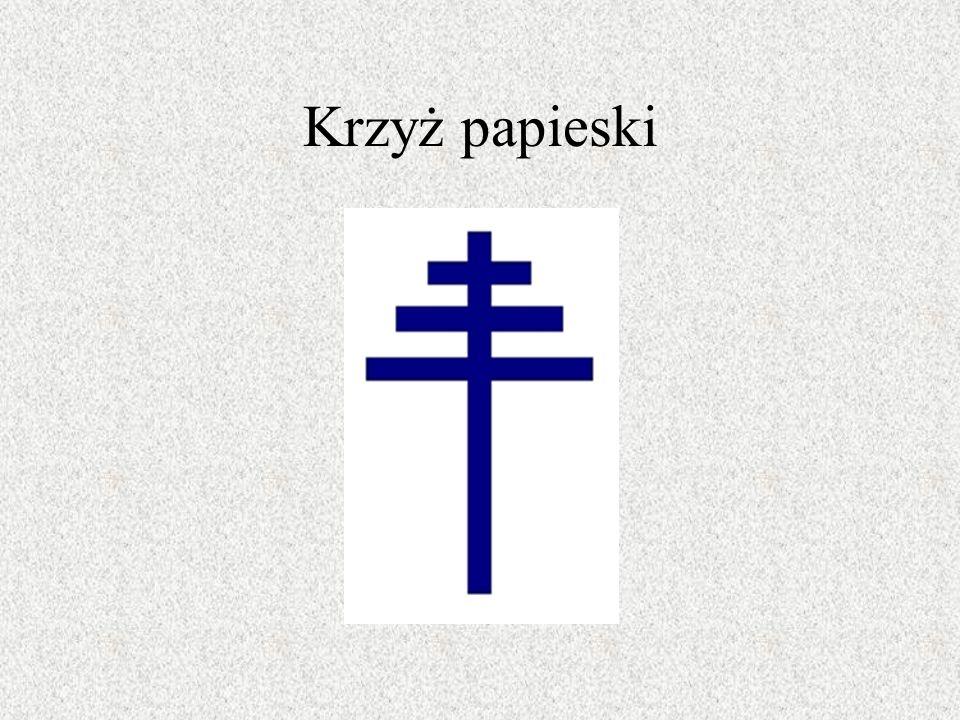 Krzyż ten w starożytności oznaczał centrum świata i panującą nad wszystkim siłę słońca.