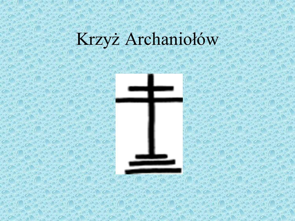 Nazwa tej formy krzyża wyprowadzona jest od łacińskiego słowa: ansa, które oznacza rękojeść, ucho.