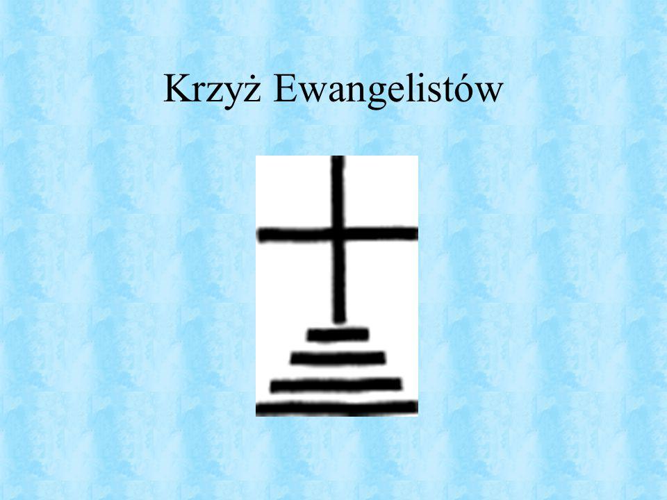 Krzyż Archaniołów znany jest także jako krzyż Golgoty.