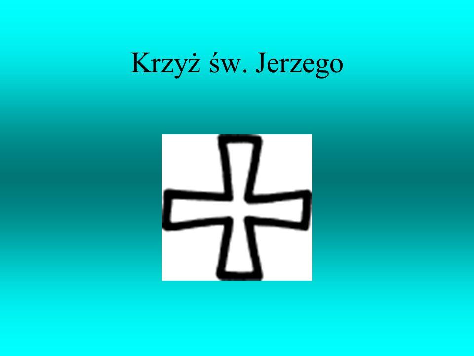 Krzyż św. Jakuba jest godłem zakonu rycerskiego o tej nazwie.