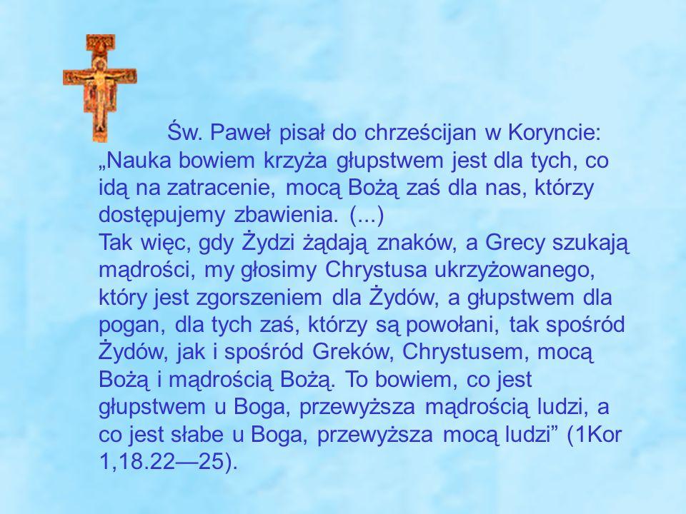 1 Kor 1, 18.22-25 Św.