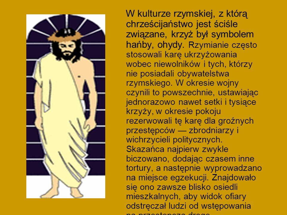 Krzyż kardynalski, o ramionach i wierzchołku zwieńczonych trójliściem.