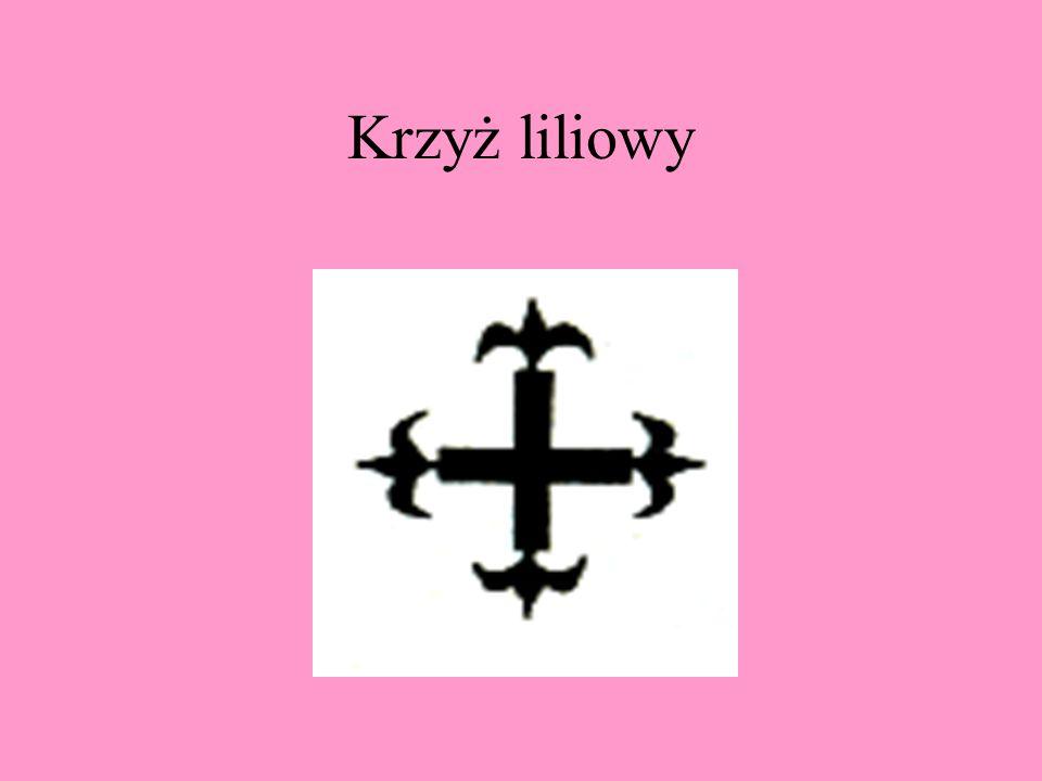 Krzyż kotwicowy jest nazywany także krzyżem kotwicznym.