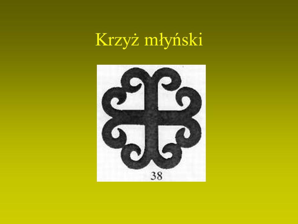 Krzyż liliowany albo liliowy jest symbolem Maryi, współcierpiącej ze swoim Synem.