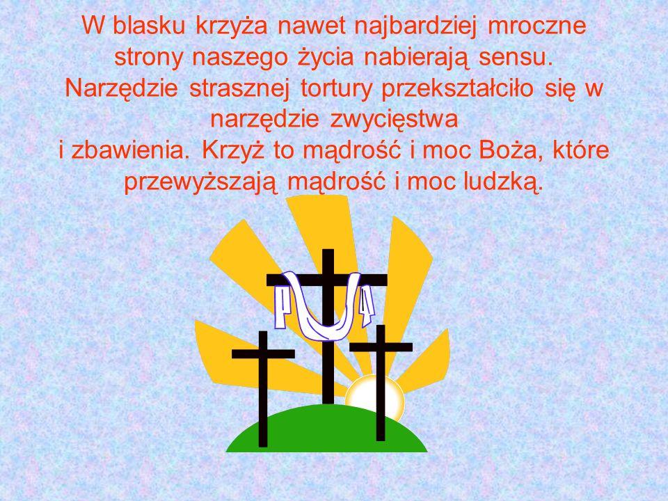 Znak krzyża jest najczęstszym gestem we wszystkich obrzędach liturgicznych.