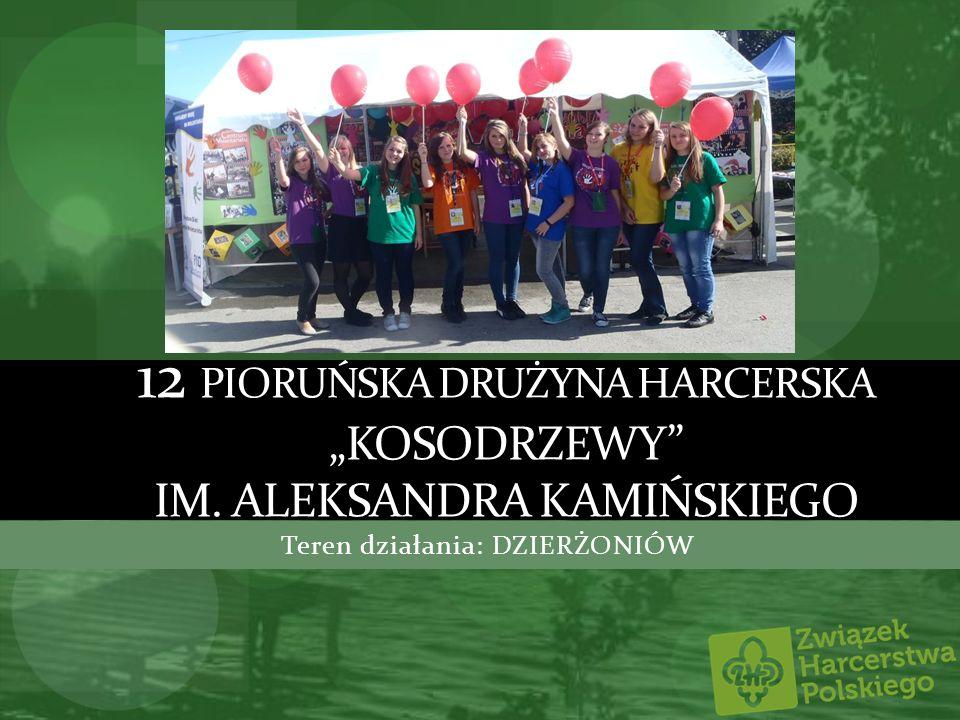 12 DH Kosodrzewy Drużyna zrzesza wszystkich, w wieku szkolnym, którzy pragną przeżyć niezapomniane przygody harcerskie wśród muzyki.