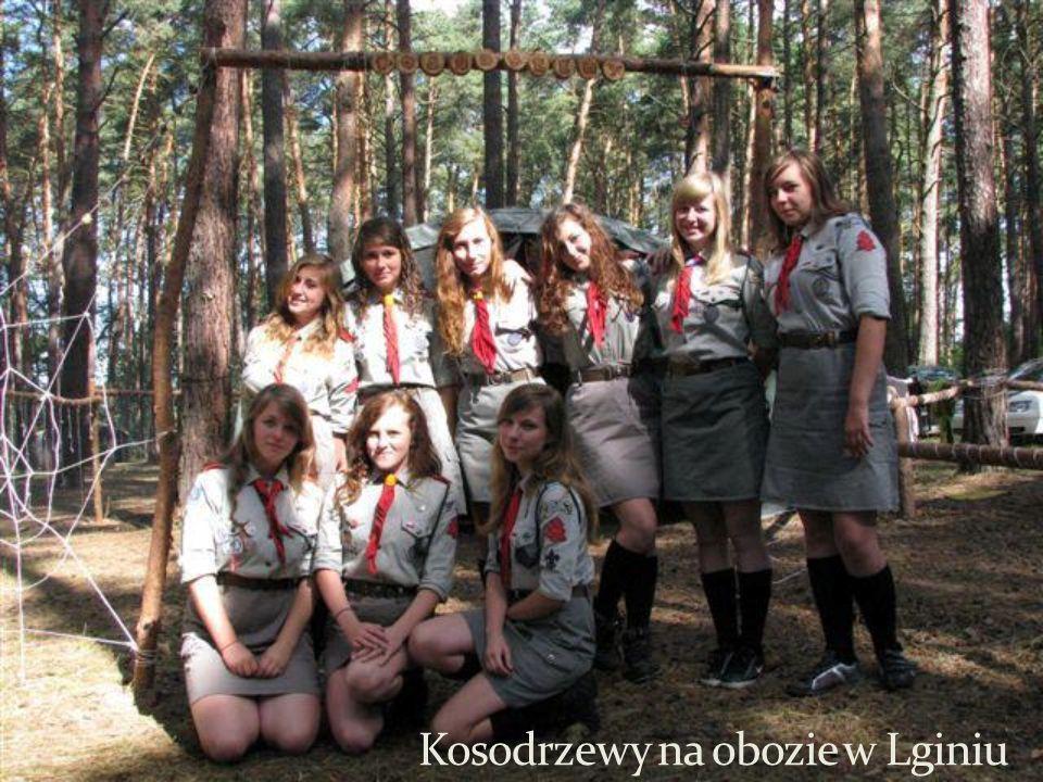Kosodrzewy na obozie w Lginiu