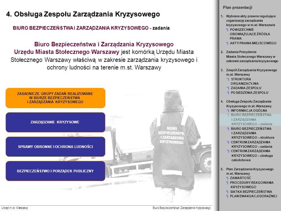 Biuro Bezpieczeństwa i Zarządzania Kryzysowego Urząd m.st.