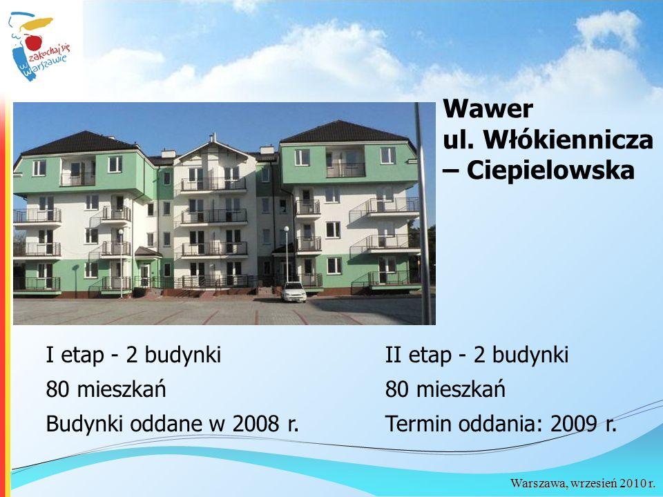 Warszawa, wrzesień 2010 r. Wawer ul.